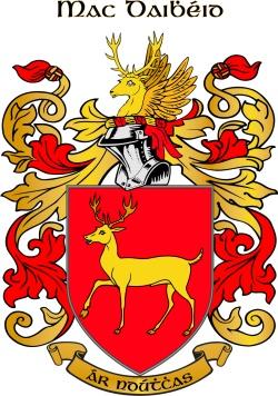 DAVISON family crest