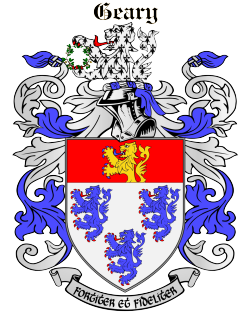 GEARY family crest