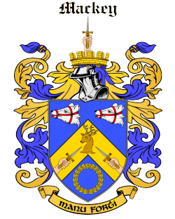 MACKEY family crest