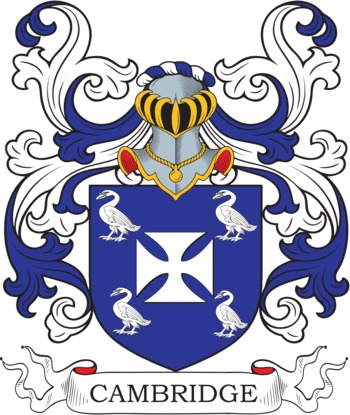 CAMBRIDGE family crest