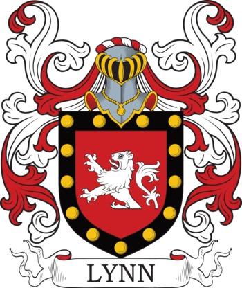 LYNN family crest