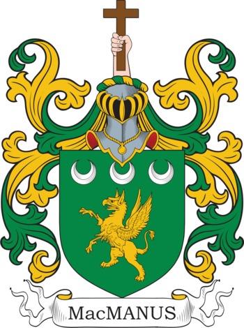 MACMANUS family crest