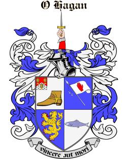 O'HAGAN family crest