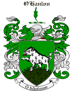 O'HANLON family crest