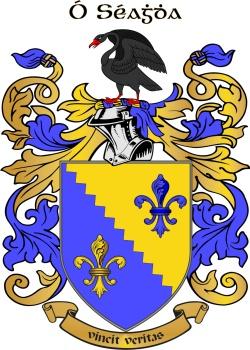 SHEA family crest