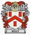Arms of English Kelly family of Kelly in Devon